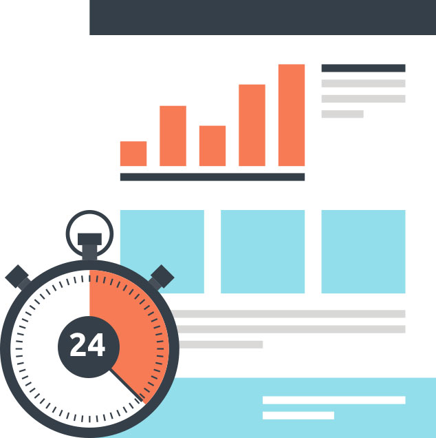 24 hours 7 days a week access to sem and marketing campaign